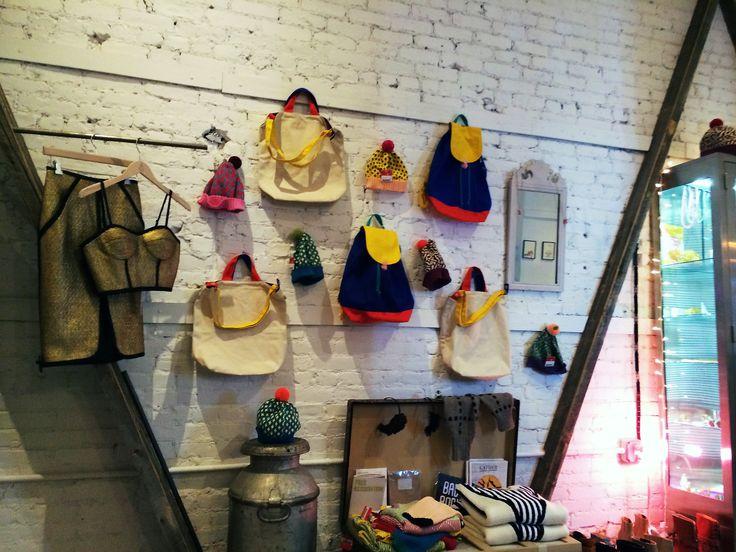 American Two Shot Retail Interior DesignDesign StylesIn FashionFashion DesignBackpackTravel GuideNyc