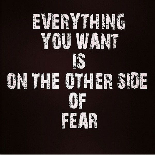 Inspirational Quotes About Fear: 25+ Great Ideas About No Fear Quotes On Pinterest