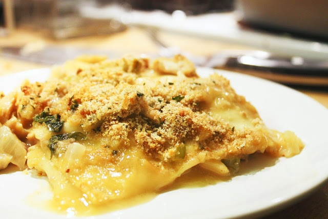 Two Recipes: Spinach and Artichoke Lasagne with Chicken