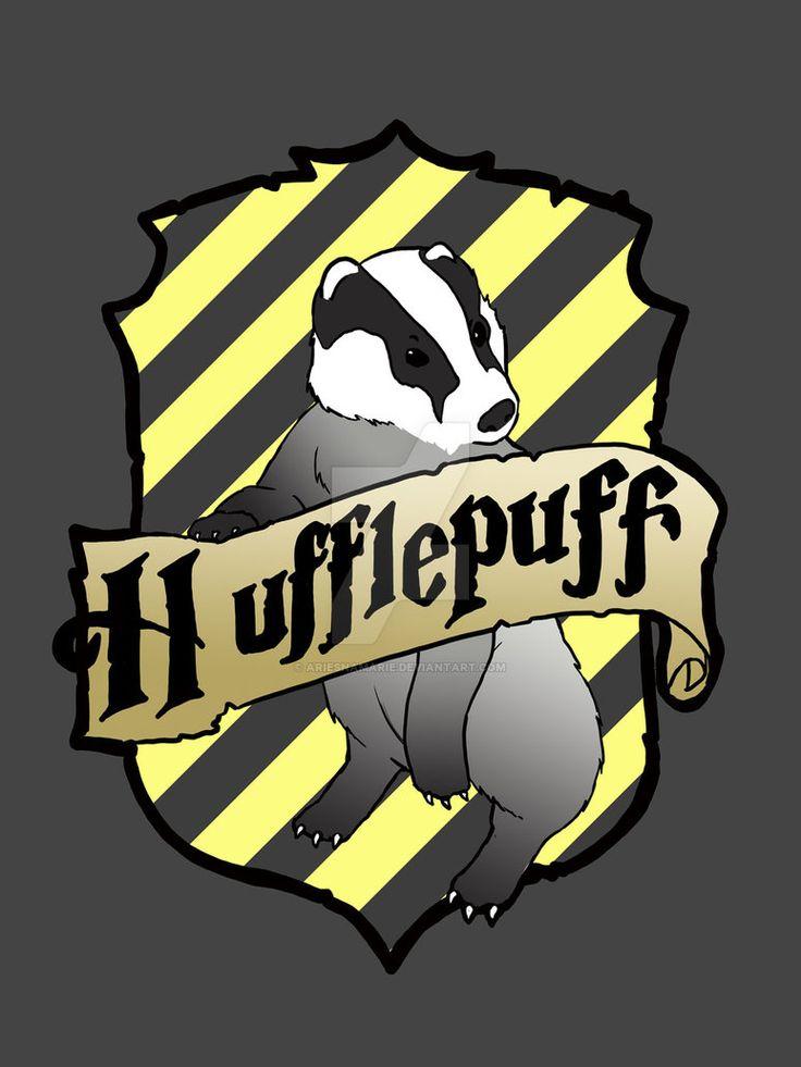 408 best HUFFLEPUFF BADGER images on Pinterest   Crests ...