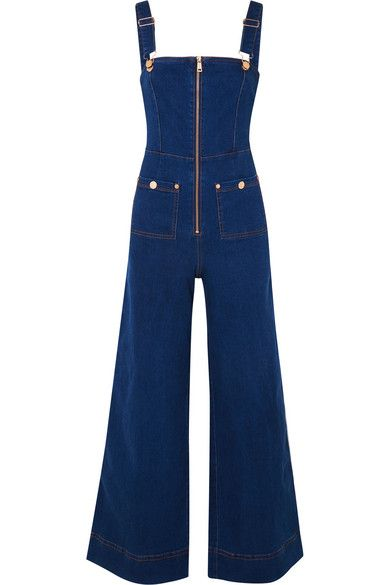 5850c9d39f7f alice McCALL - Quincy Denim Overalls - Dark denim