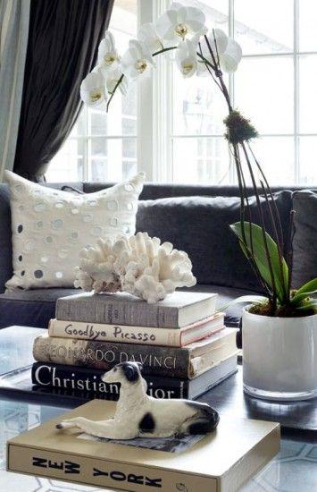 Books for decor.