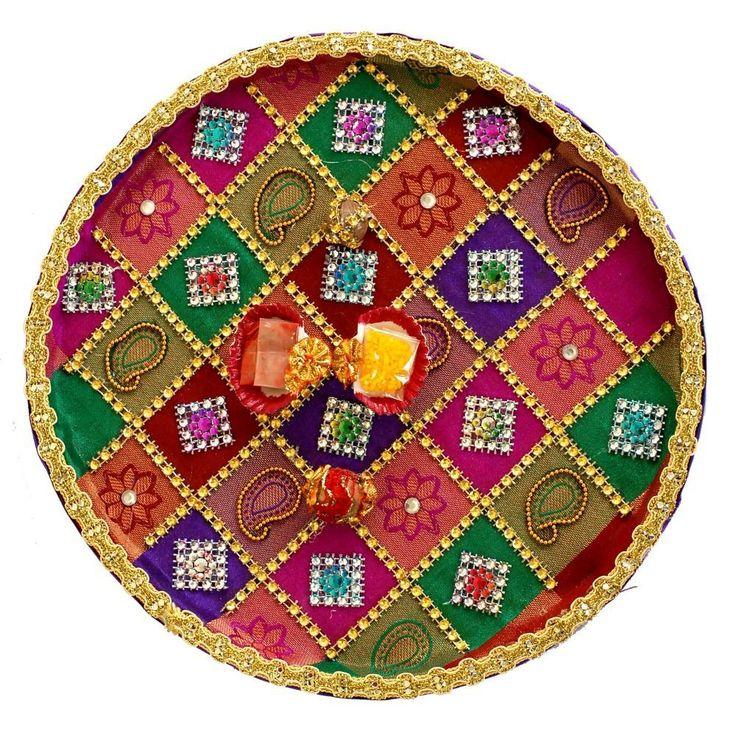 decorative aarti thali