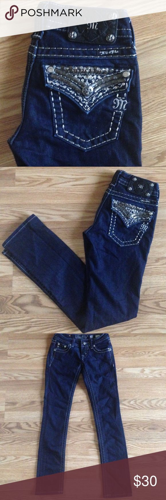 Miss Me Skinny Jeans Miss Me Jeans...sz 24 ...Excellent /Like New Condition Miss Me Jeans