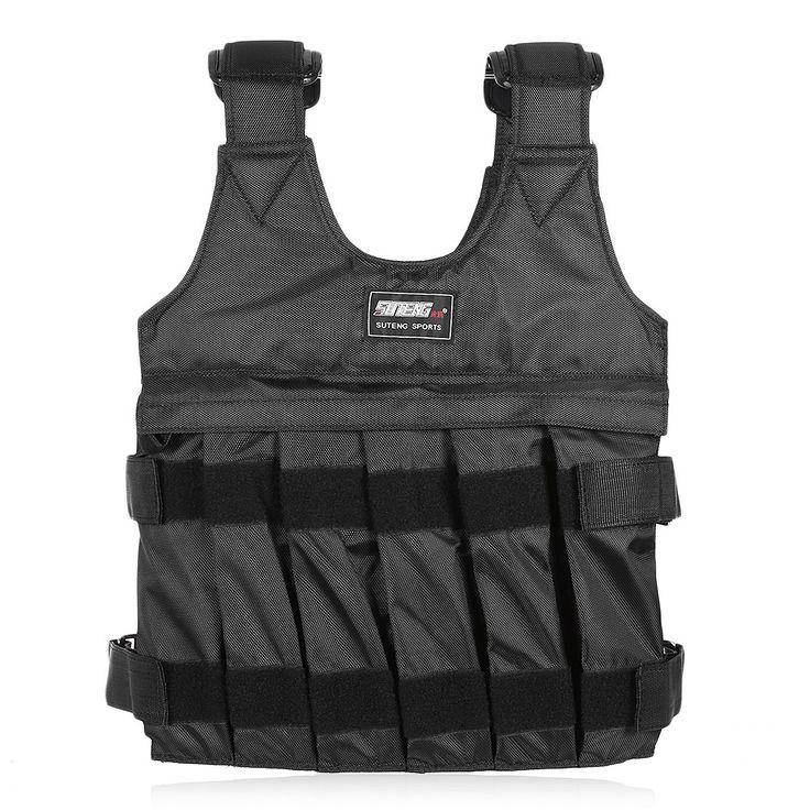 10kg/50kg Weighted Vest Weighted vest, Boxing training, Vest