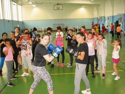 La boxe anglaise plébiscitée par le filles !