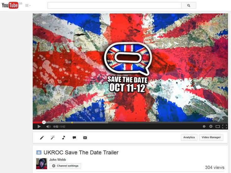 Still from UKROC 'Save The Date' trailer. Aired during the London Roller Girls vs Gotham Girls Roller Derby game live stream (via Derby Duck Productions), as well as being shared on YouTube and social media.