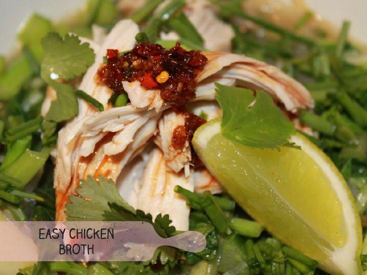 Easy Chicken Broth