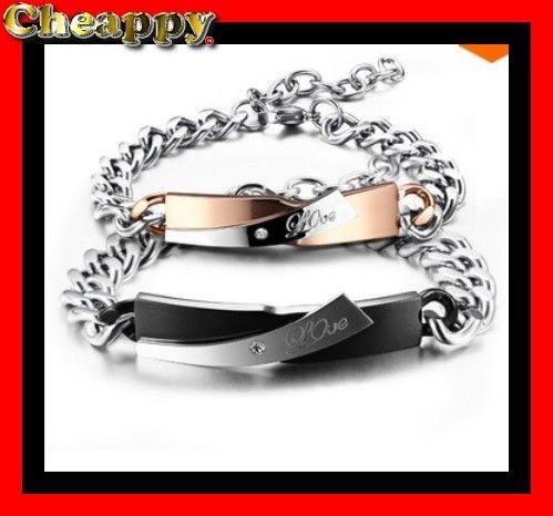 Liefdes, lovers armband voor hem en haar Love