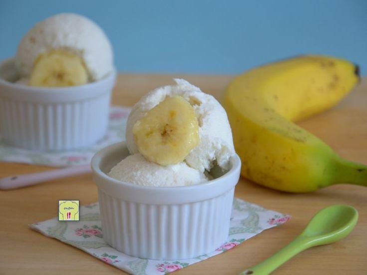 Gelato senza gelatiera alla banana