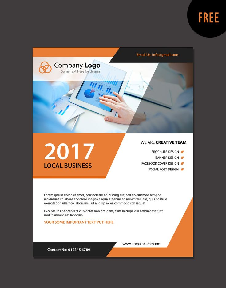 22 best free brochure templates images on pinterest brochure modern business brochure templates flashek Images