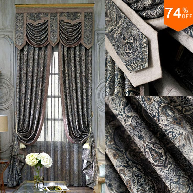 Find More Curtains Information about Black Embroidery black out curtains Dark grey study Room Curtain Classic designer's living rooms pontifical's bedroom Curtain,High Quality curtain track,China curtain jacquard Suppliers, Cheap curtains bedding from Fashion Trend For You on http://www.aliexpress.com/store/product/Black-Embroidery-black-out-curtains-Dark-grey-study-Room-Curtain-Classic-designer-s-living-rooms-pontifical/213632_32586272559.html