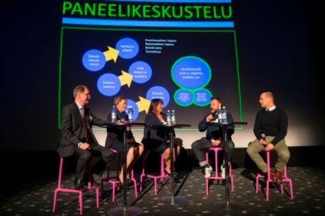 Lauri Kaira, Heli Sirkiä, Taru Kallio-Nyholm, Riku Rantala ja Antti Innanen