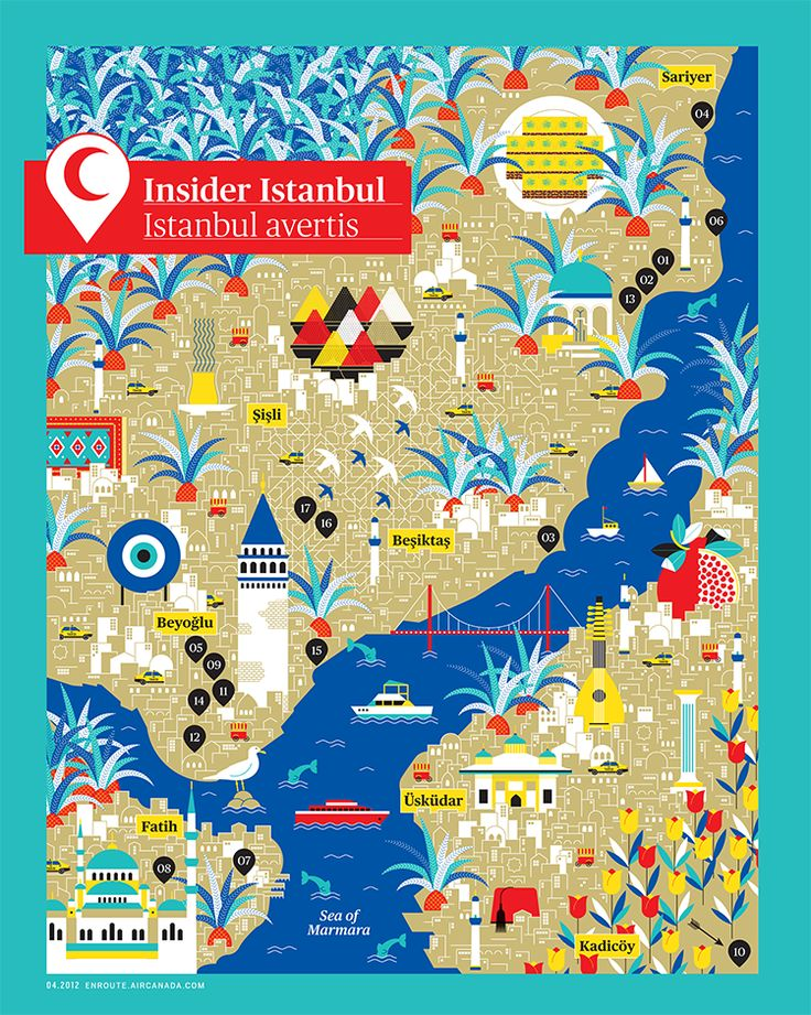 Istanbul Map / by La Tigre
