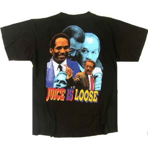 Vintage OJ Simpson Juice is Loose T-Shirt