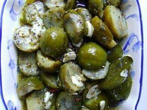 Salada conserva de jiló, Receita Petitchef