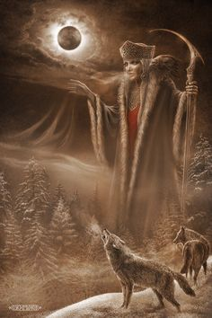 Goddess Morana Morana is a Slavic goddess associated with seasonal rites based on the idea of death and rebirth of nature. She is associated with death, winter and nightmares.