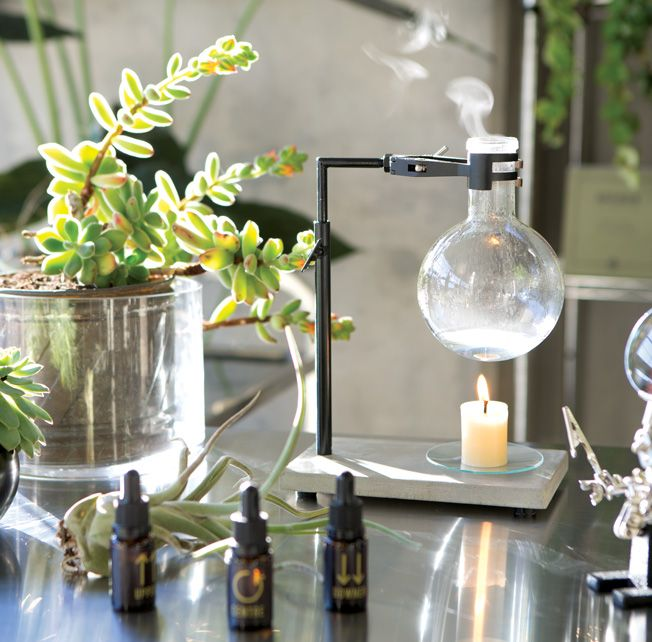 Essential Oil Burner - Science Flask Bunsen Burner