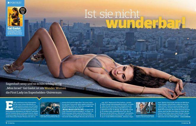 Gal Gadot TV Digital Germany Magazine (November 2017) #wwceleb #galgadot