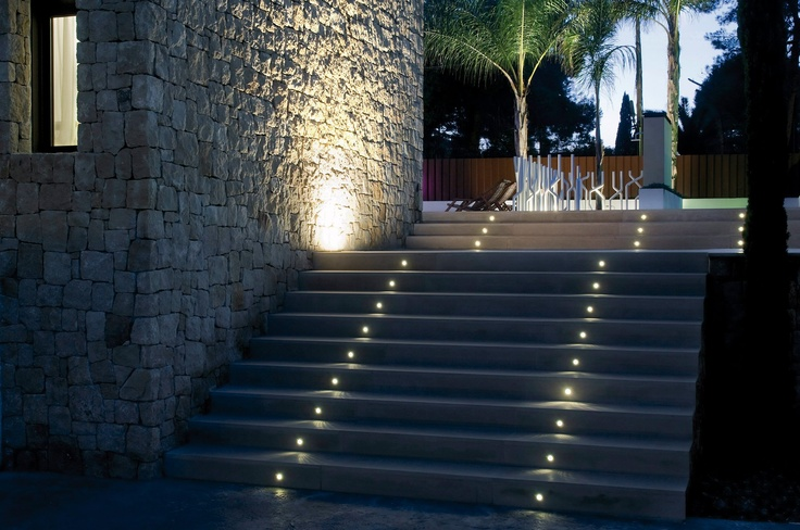Installation environment for OUTDOOR STAR LED. Stairs. — en Arkoslight.