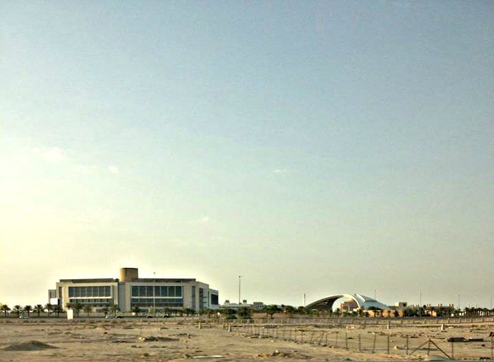 Just a random view in Riyadh near my compound...
