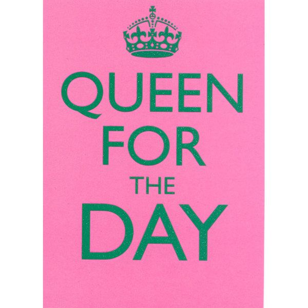 queen for a day essay