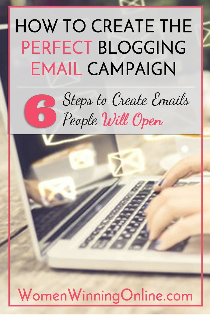 Do you struggle to figure out what emails you should send to your blog followers? Here are my 6 tips to creating the perfect blogging email campaign that will get your emails read!