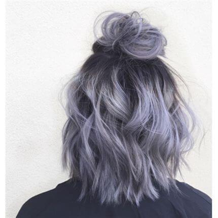 25 Silber Haarfarbe Sieht absolut herrlich aus