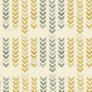 spoonflower fabrics - mellow arrows