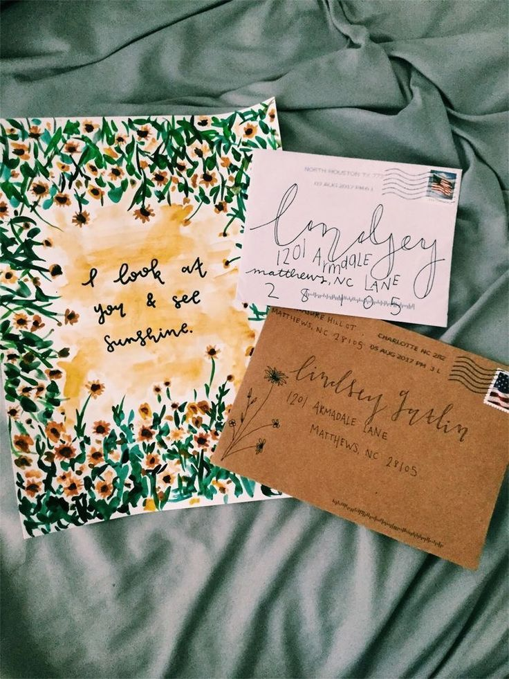 Journaling And Handwritten Letters Have Always Been So Important To Me Mail Art Envelopes Handwritten Letters Envelope Art