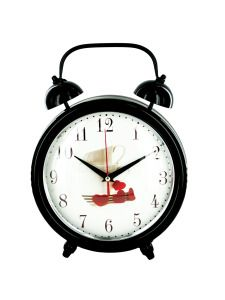 OF545-Bulk Buys OF545 Decorative Metal Desk Clock (Pack Of 1 ) Buy It In Bulk - Bringing the Warehouse Club experience straight to your door