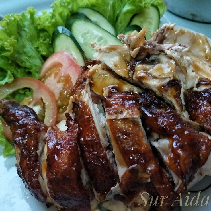 resipi nasi ayam  senang sedap  majlis open house rasa resep rebusan tumis Resepi Rendang Ayam Tanpa Tumis Enak dan Mudah