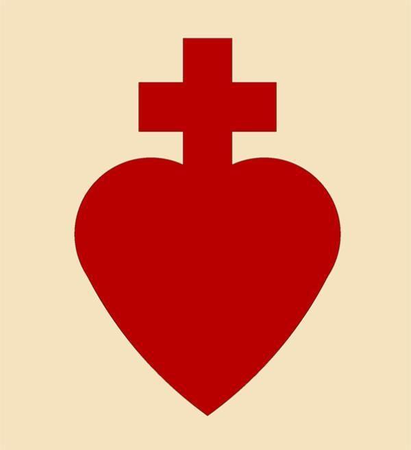 Cœur sacré de Charles de Foucauld