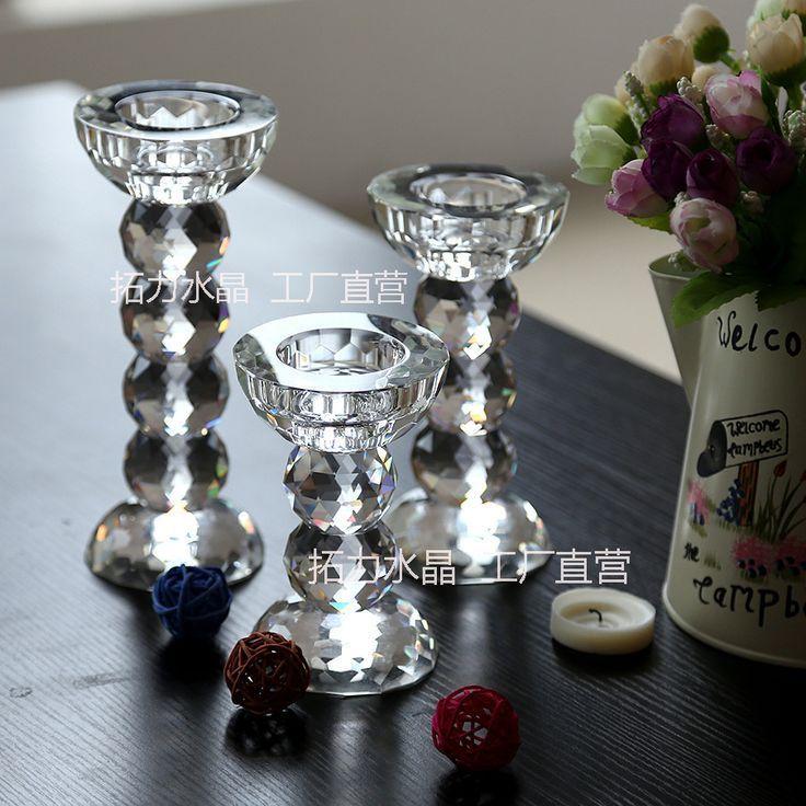 Candeliere A Cristallo Candeliere Ornamenti Cena A Lume Di Candela Continental Contine Cena A Lume Di Candela Candele Ornamenti