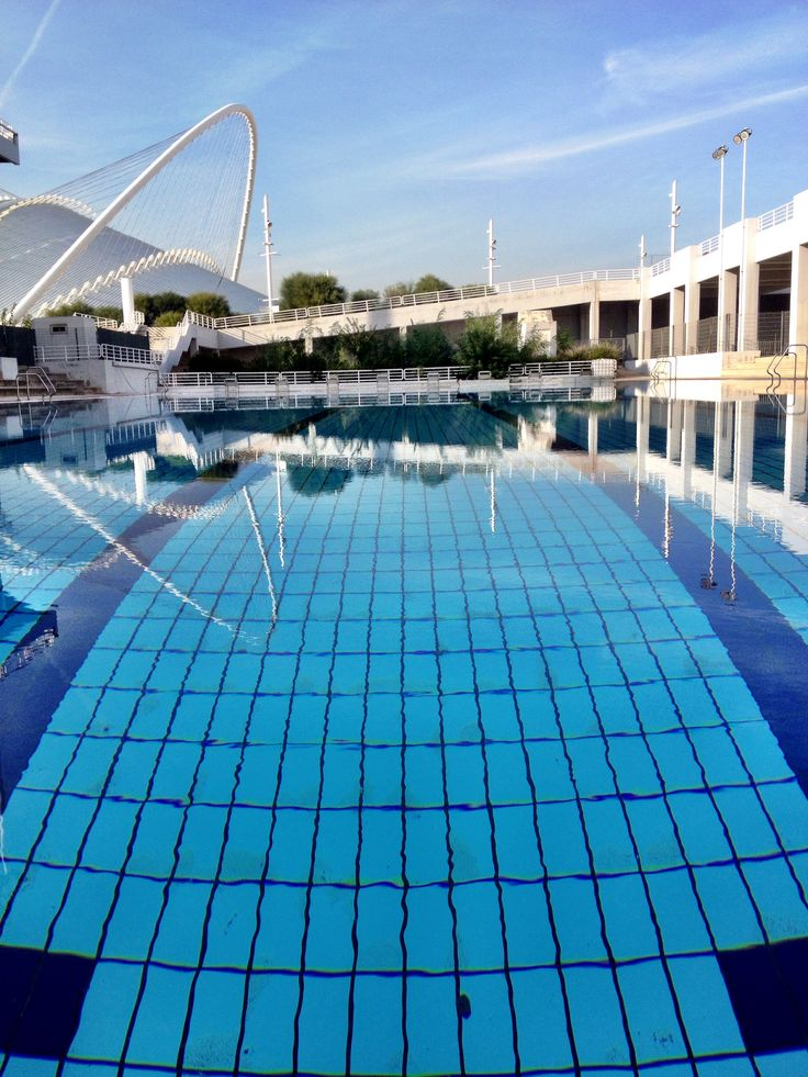 Oaka outdoor pool workout!