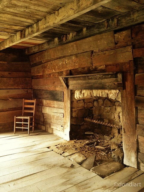 17 best images about fireplace on pinterest fireplaces for Log cabin fireplaces pictures