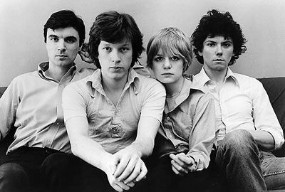 Talking Heads: David Byne,Chris Franz, Tina Weymouth. Jerry Harrison
