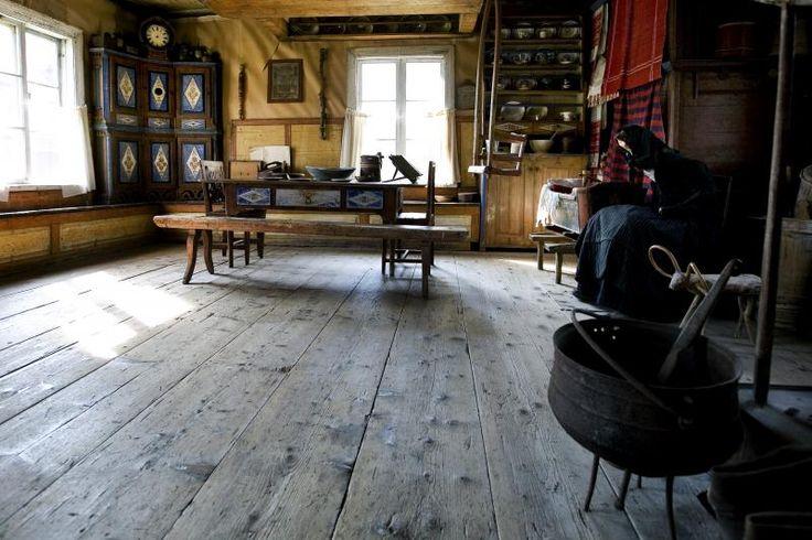 Myrbergsgården Farmhouse Museum, in Vörå, South Ostrobothnia region, Finland