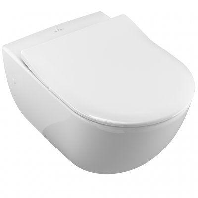 Miska wc wisząca 375 x 565 mm Villeroy & Boch Subway 6600 10 01