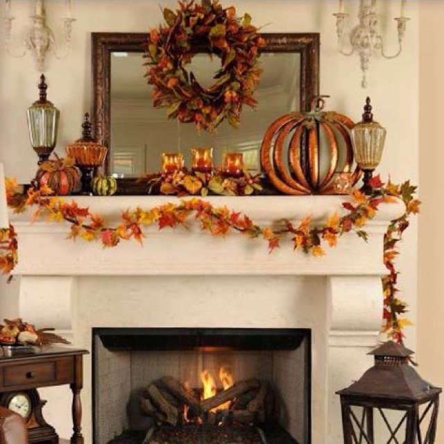 Wall Colour Inspiration: Love The Fall Decor All From Kirklands