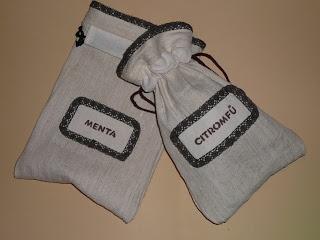 Dönci - saját készítésű játékok, ajándékok: SK karácsonyi ajándék ötlet: teás zsákok