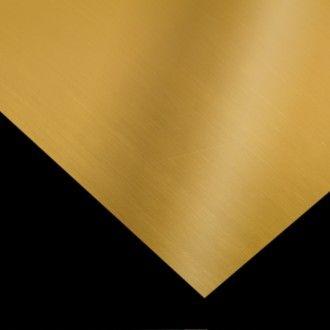 PLANCHA LATÓN FINA Plancha de latón superfina de 0,3 mm de grosor y una medida de 20 x 40 cm. Perfecta para todo tipo de manualidades y joyería. #MWMaterialsWorld #planchalatón #brass
