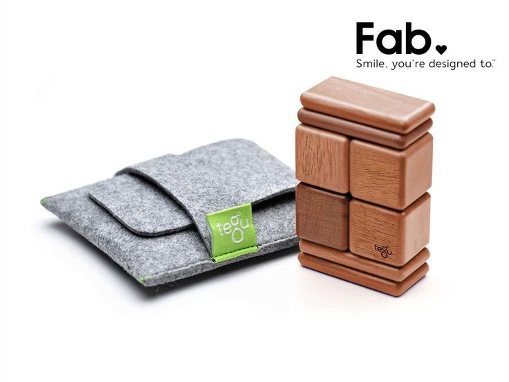 LivingSocial Shop: Tegu Magnetic Wood Blocks - I need like several sets of these!