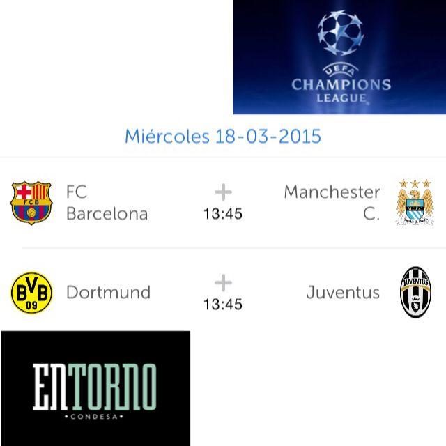 Hoy son los partidos de la Champions League del Barcelona y la Juventus ¡Y los puedes ver en #EntornoCondesa! Te esperamos a la 1:45 en Mazatlán 138.