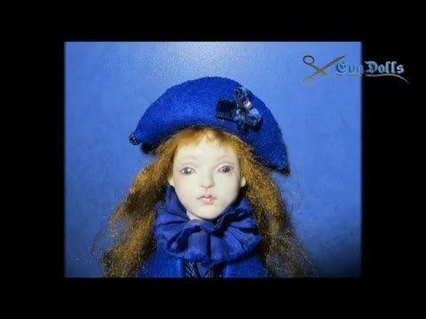 Авторская кукла, мастер-класс, часть1