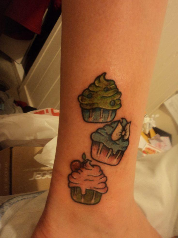 Mini Cupcake Tattoos