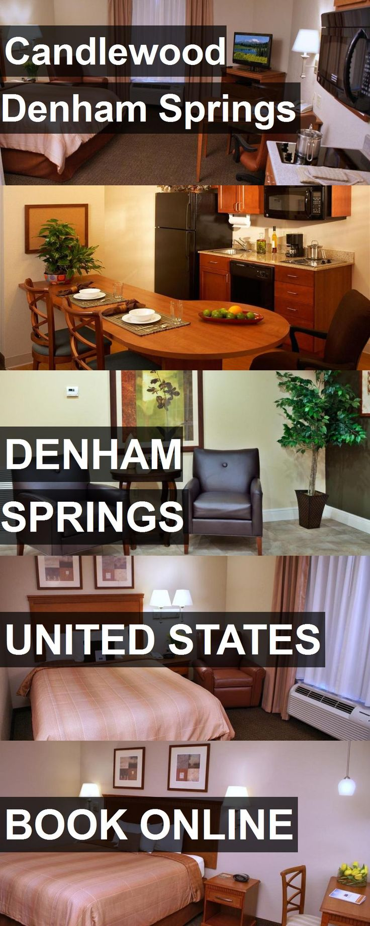 Hotel Candlewood Denham Springs in Denham Springs, United States. For more information, photos, reviews and best prices please follow the link. #UnitedStates #DenhamSprings #travel #vacation #hotel