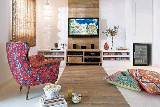 wood panel strip behind tv   Lounge   Pinterest   Nice, TVs and ...