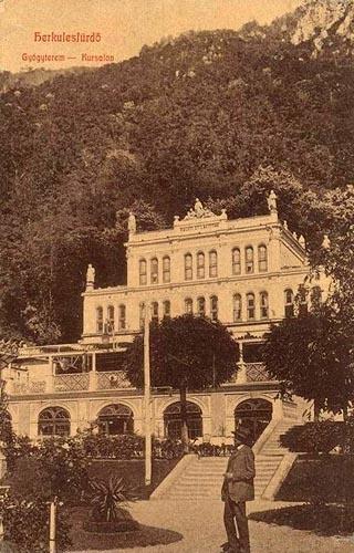 Baile Herculane - Casino - Antebelica