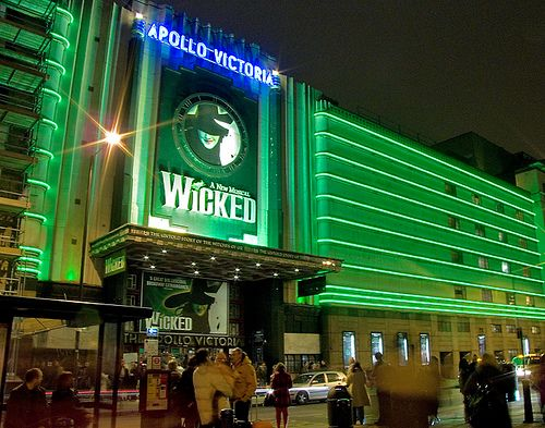 Wicked, at the Apollo: Photos, Theatres, Favorite Places, Musical, London, Wicked